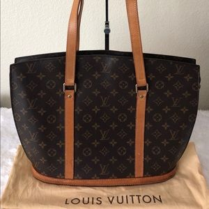 Louis Vuitton Monogram Canvas Babylone Tote Bag